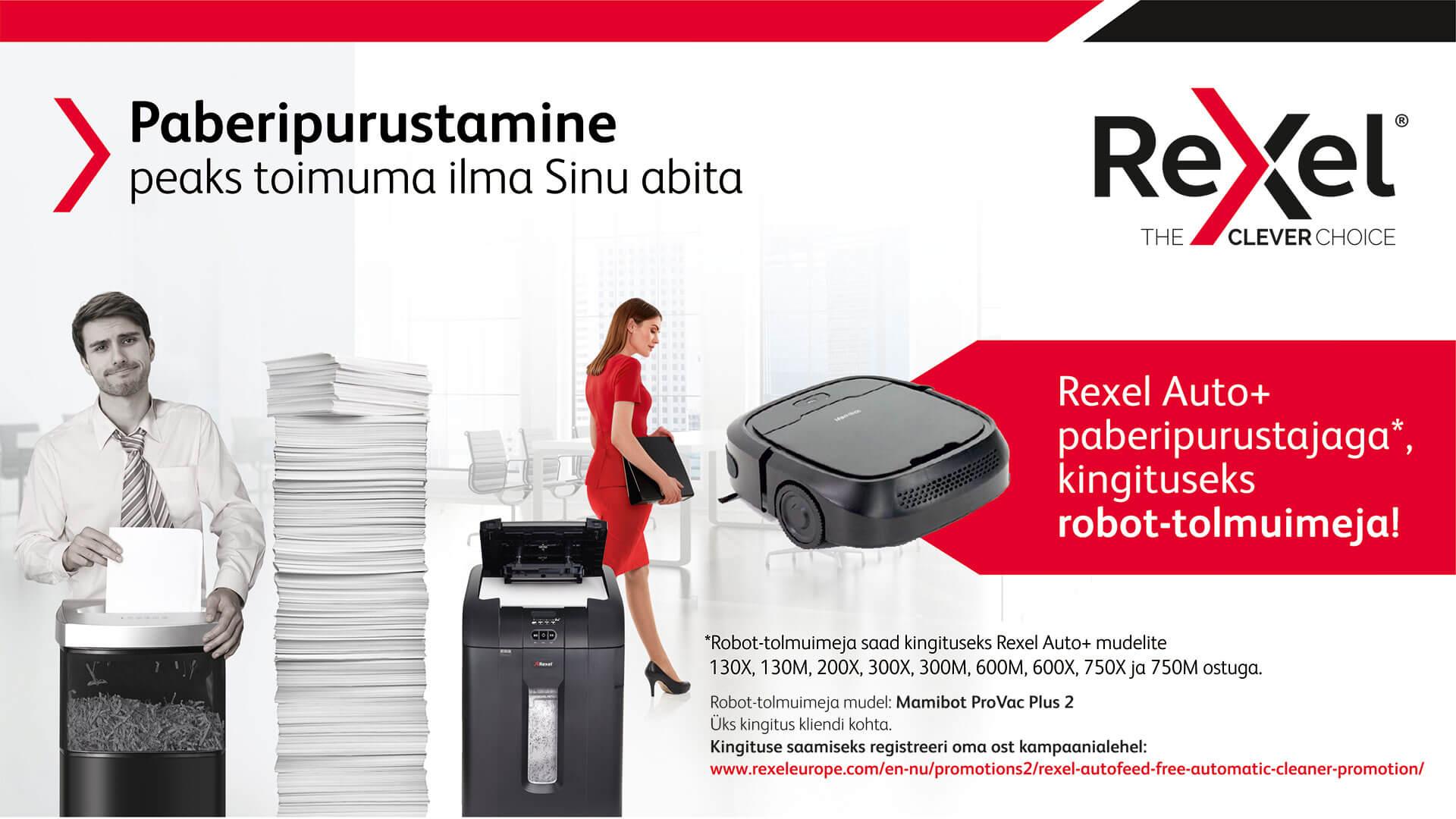 Rexel paberipurustajate kampaania!