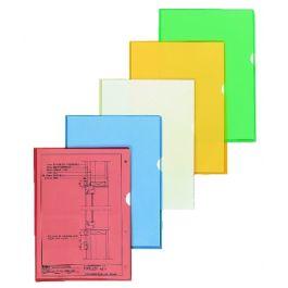 Kiletasku L-tasku A4 roheline ,0,12,Esselte, 10tk./pk