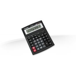 Lauakalkulaator Canon WS-1210T 12-kohaline, päikese- ja tavapatarei, must, kallutatav ekraan - Kalkulaatorid - Kontoritehnika