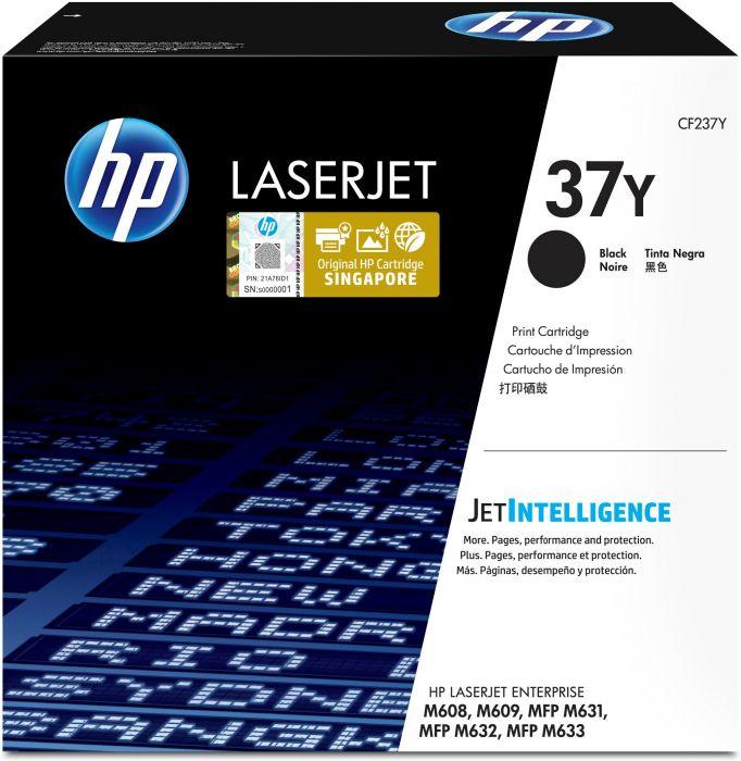 Tooner HP CF237Y Extra High Yield Black/must 41000lk ISO/IEC 19752 LJ Enterprize M608/M609, Flow MFP M631/M632/M633