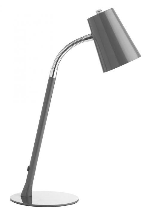 Valgusti UNILUX Flexio 2, hõbehall ; vahetatav LED lamp 5W E14
