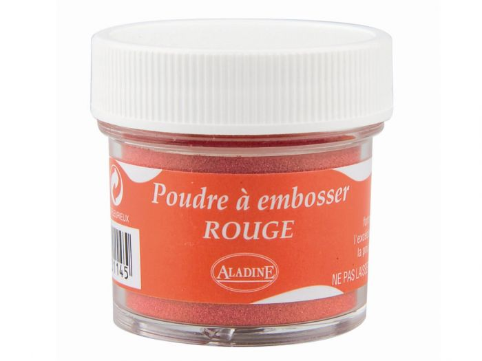 Embossing pulber Aladine 30ml punane