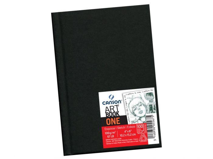 Eskiisiplokk Art Book One A6 100g 100lehte kõvaköide