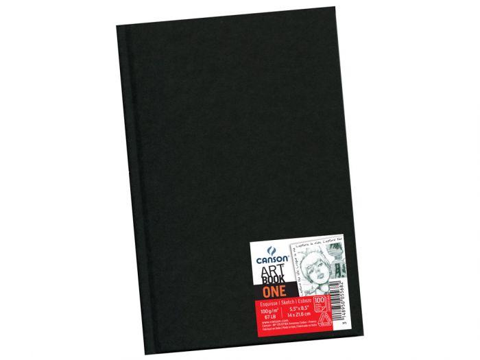 Eskiisiplokk Art Book One A5 100g 100lehte, kõvaköide
