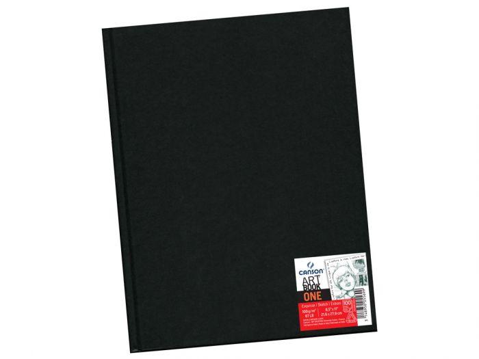 Eskiisiplokk Art Book One A4 100g 100 lehte kõvaköide