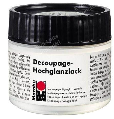 Decoupage lakk 50ml high glossy