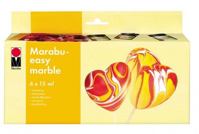Marmoriseerimisvärv 6x15ml
