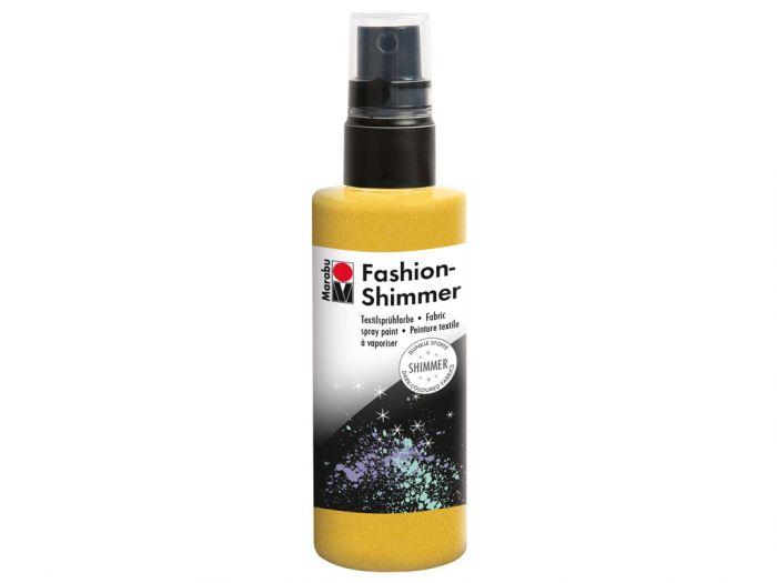 Tekstiilivärv Fashion Shimmer Spray 100ml 520 lemon- sidrun