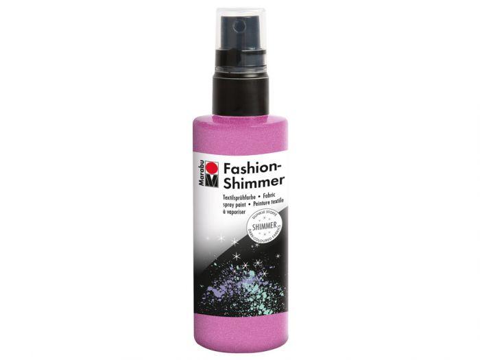 Tekstiilivärv Fashion Shimmer Spray 100ml 534 rose pink- roosa