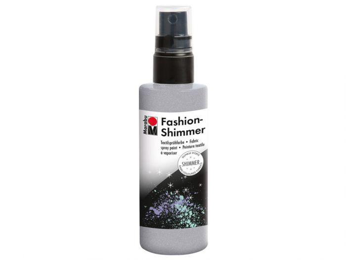 Tekstiilivärv Fashion Shimmer Spray 100ml 581 silver-hõbe