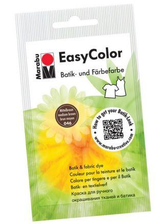 Batikavärv EasyColor 25g 046 medium brown