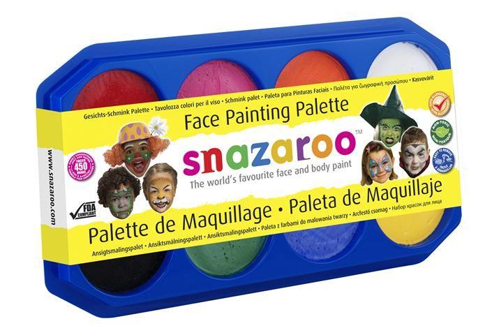Näovärv 18ml x 8 värvi alusel, Snazaroo