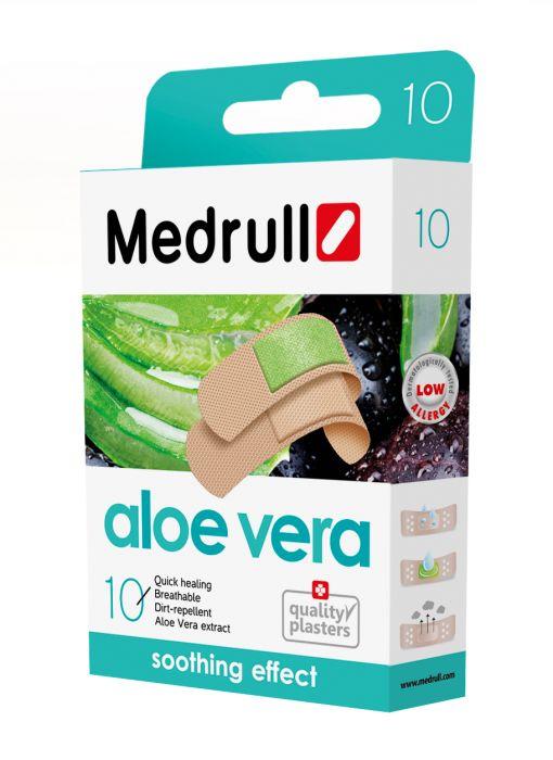 Haavaplaaster Medrull Aloe Vera 20tk/pk