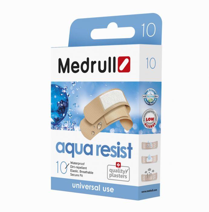 Haavaplaaster Medrull Aqua Resist  (universaalne, veekindel) 10tk/pk