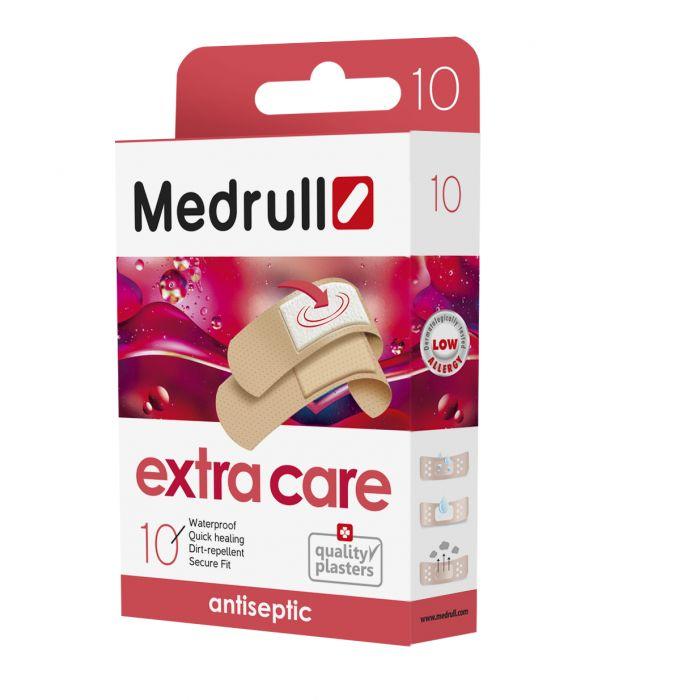 Haavaplaaster Medrull Extra Care antiseptik 10tk/pk