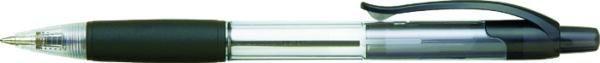 Pastapliiats Penac CCH-3, 0,7mm, must,klõpsuga