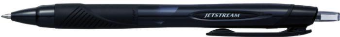 Geelpliiats UNI Jetstream SXN157 must 0,7mm lülitiga
