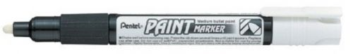 Marker Pentel Paint MMP20 4,0mm,nitrovärvi baasil, valge