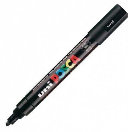 Marker Uni PC5M Posca, must 2,5mm