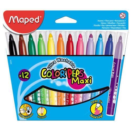 Viltpliiatsid Color Peps Jumbo 12värvi, pestav, Maped