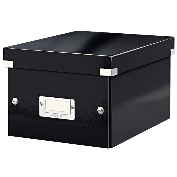 Karp A5 kokkupandav, Leitz C&S Small 220x160 x282mm WOW,, must,lamineeritud kartong