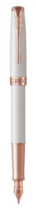 Sulepea 18K Parker Sonnet Pearl PGT,Medium