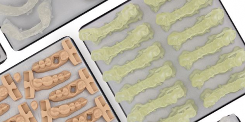 Dental Surgical Guide Resin materjal Formlabs Form 2 ja 3 3D-printerile, 1l kassett