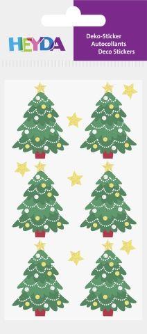 Kleebis Jõulukuusk, Heyda