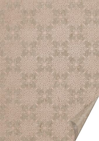 Käsitöökartong 50x70cm 220g Natural Tähesära, roosa kuld, Heyda