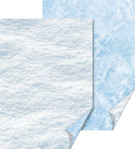 Käsitöökartong 50x70cm 300g Jää ja Lumi, Heyda