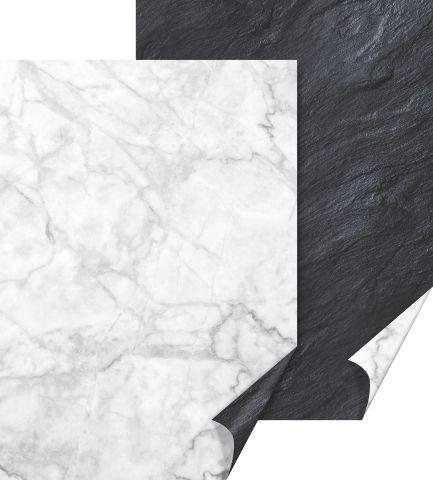 Käsitöökartong 50x70cm 300g marmor, Heyda