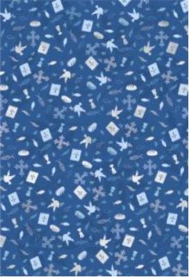 Käsitöökartong A4 200g motiiv sinine, Heyda