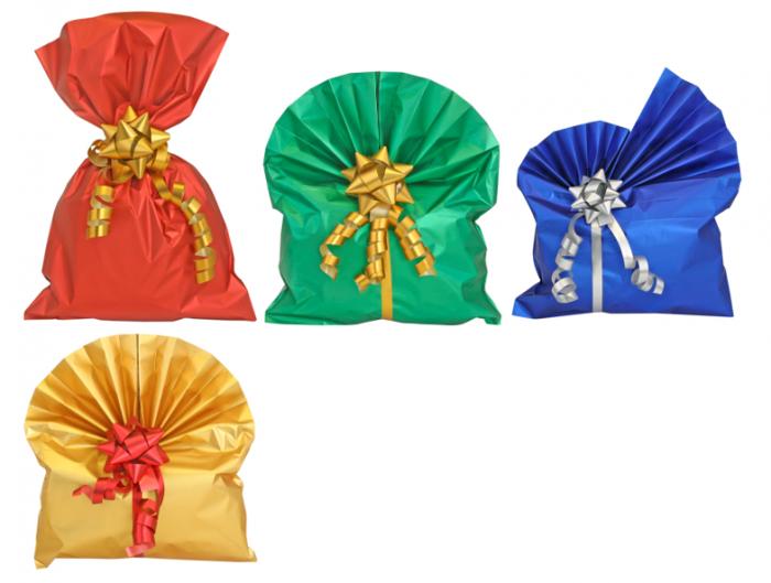Kinkekott foolium 34x50 erinevad värvid
