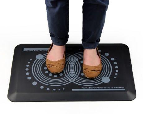 Põrandamatt seisvaks tööks FLOORTEX AFS-TEX System 2000/ 18mm, 40x60cm, tumehall
