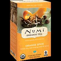 Valge tee ÖKO Numi Orange Spice 2,8g*16 tk/pk