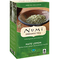 Roheline tee ÖKO Numi Mate Lemon 2,3g*18 tk/pk