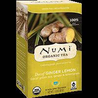 Roheline kofeiinivaba tee ÖKO Numi  Ginger Lemon  2g*16  tk/pk