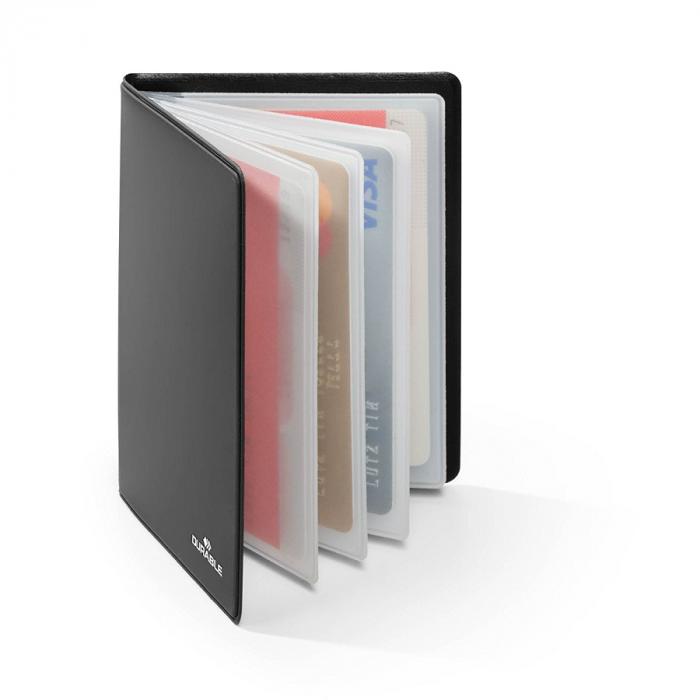 Krediitkaartide kaaned RFID Secure, 75x102 mm (8 taskuga 54x86 mm),skaneerimise kaitsega