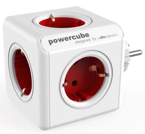 Harukarp allocacoc PowerCube Original Red, 5 pesa, maandusega