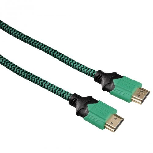 Kaabel HDMI-HDMI Hama 2.5m High Quality High Speed HDMI™ Cable for PS4/Xbox One, kullatud, CEC 4K 4096x2160p , triple screened