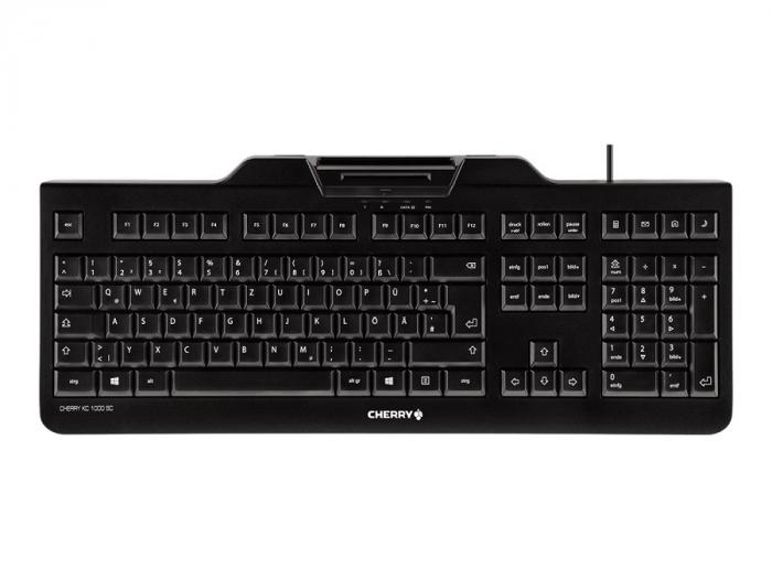 Klaviatuur Cherry KC1000 SC EE layout (EST) smart card module (ID-kaardi lugeja) JK-A0100EE-2 1YW