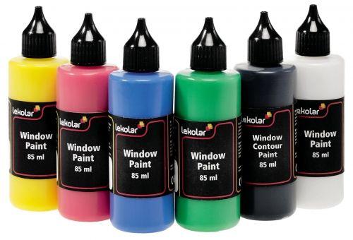 Klaasivärvid 6 x 80 ml