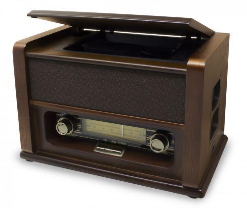 Muusikakeskus Soundmaster Nostalgic NR976, FM-raadio, CD-mängija