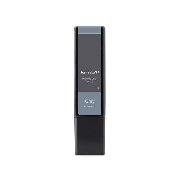Grey Resin materjal Formlabs 3D-printerile, 1l kassett, hall