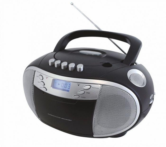 Magnetoola Soundmaster SCD6900SW Boombox, FM-/AM-raadio, CD-mängija, kassetimängija