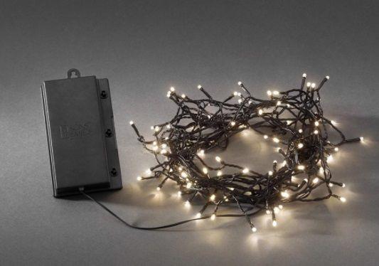 Valguskett 240 ww LED tulega, taimer 6H, must kaabel/L-2440cm,  lisada patareid 4xD/õue, siseruumi