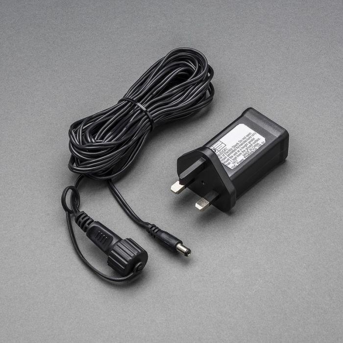 Stardikomplekt tootele 4811-807,  31V LED, IP44 trafo, must kaabel/ selle külge saab kinnitada 1040 LED tuld või 100m