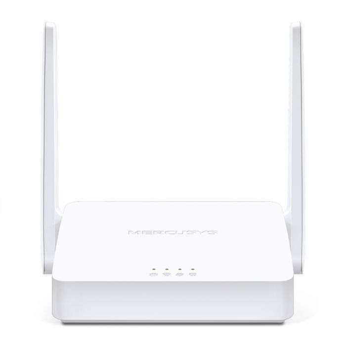 Mercusys Multi-Mode Wireless N Router MW302R 802.11n, 300 Mbit/s, 10/100 Mbit/s, Ethernet LAN (RJ-45) ports 2, Antenna type 2xFixed, White