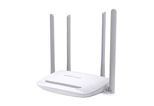 Mercusys Enhanced Wireless N Router MW325R 802.11n, 300 Mbit/s, 10/100 Mbit/s, Ethernet LAN (RJ-45) ports 3, Antenna type 4xFixed, White