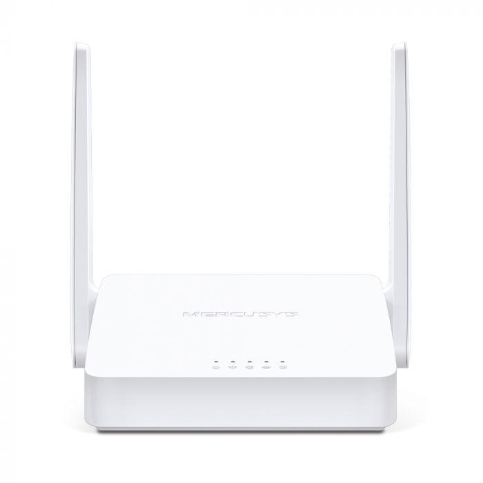 Mercusys Wireless N ADSL2+ Modem Router MW300D 802.11n, 300 Mbit/s, 10/100 Mbit/s, Ethernet LAN (RJ-45) ports 3, Antenna type  2External, White